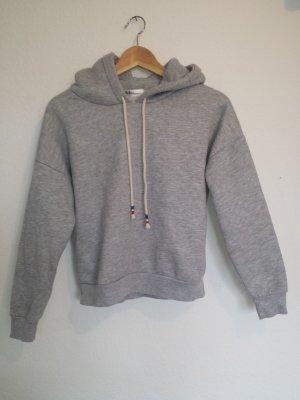 grauer hoodie