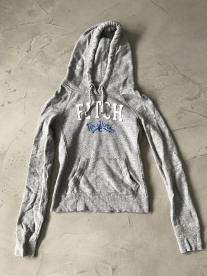 Grauer Hoodie // Abercrombie & Fitch