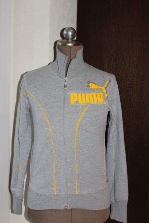 grauer Hoodie  / Sweatjacke von Puma