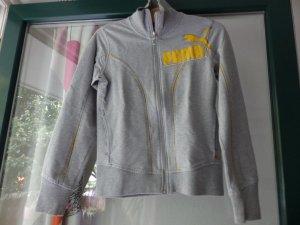 grauer Hoodie / Sweatshirt / Sweatjacke von Puma