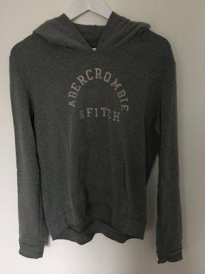 Grauer Hoodie von Abercrombie & Fitch
