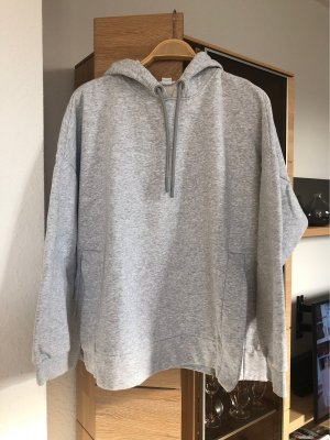 H&M Sport Hooded Sweatshirt light grey