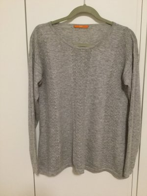 Grauer Hugo Boss Pullover 100% Wolle