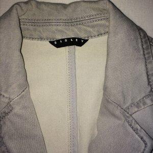Grauer Jeans Blazer von Sisley