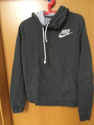 Grauer Kapuzenpulli von Nike