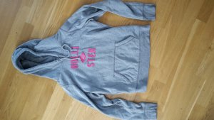 Hollister Hooded Sweater grey-magenta