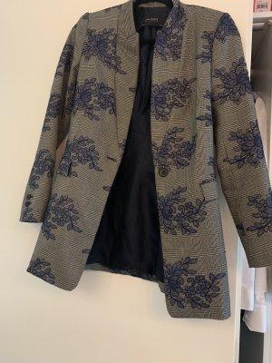 Zara Basic Short Coat grey-blue