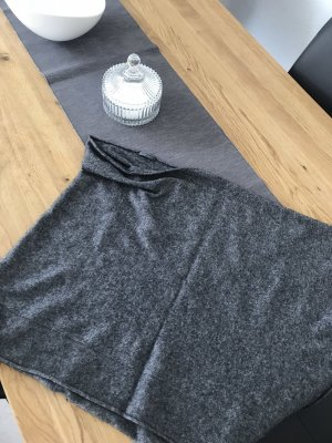 Poncho grey-dark grey