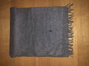 Grauer Kaschmirschal von Polo Ralph Lauren aus 100% Kaschmir