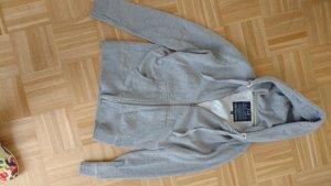 Grauer kuschelige Hoody Jacke von LTB Gr L (38/40)