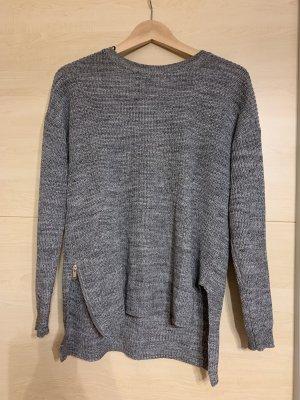 Grauer länglicher H&M Pullover