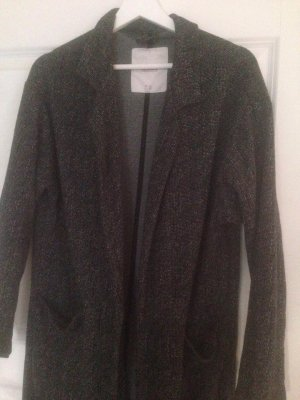 Pull & Bear Manteau oversized gris anthracite