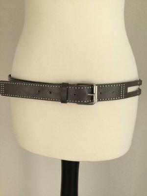 Cintura di pelle argento Pelle