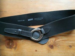 Bernd Götz Cinturón de cadera gris Cuero
