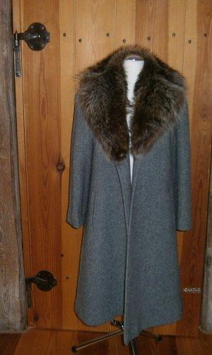 Aquascutum Manteau en laine gris laine vierge