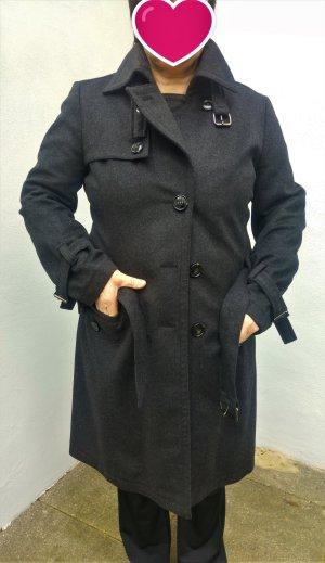 grauer Mantel aus Wolle und Kaschmir von Cinque