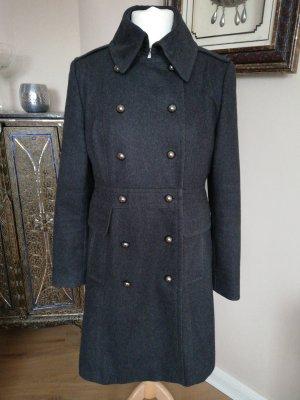 Grauer Mantel Gr. 40