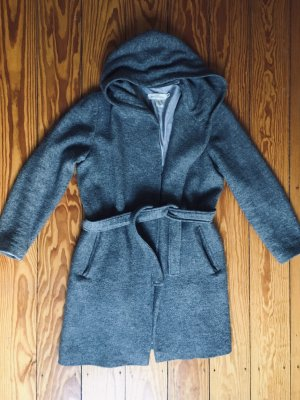 H&M L.O.G.G. Hooded Coat grey