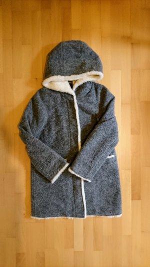 grauer Mantel Zara