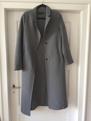 Grauer Maxi Mantel ZARA outerwear