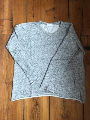Grauer Melange-Sweater von CLOSED Pulli aus softem Sweat in Grau S