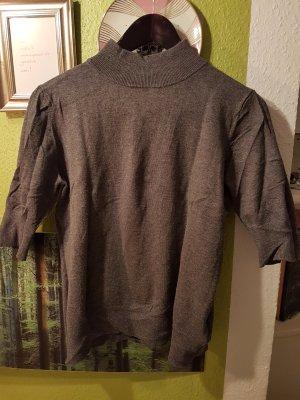 grauer Mexx Stehkragen Pullover, XL