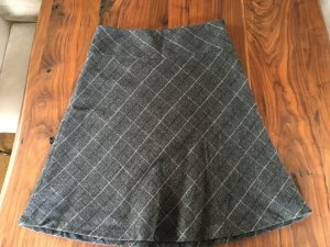 H&M Gonna di lana multicolore Tessuto misto