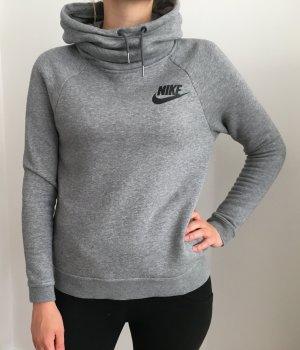 Grauer Nike Rally Kapuzenpullover