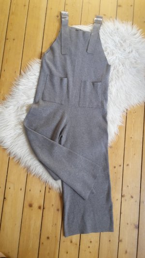 Zara Knit Zakelijk pak zilver