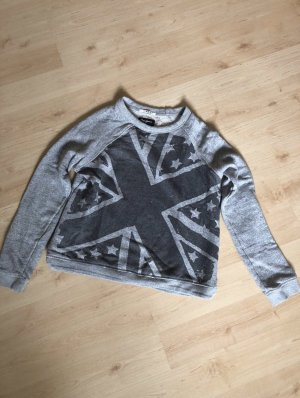 Grauer Pepe Jeans Pullover XS
