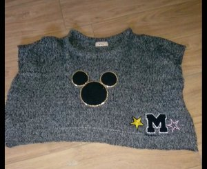 Disney Poncho grijs