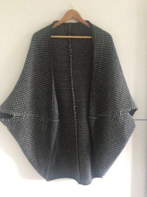 Opus Gilet tricoté gris anthracite-blanc acrylique