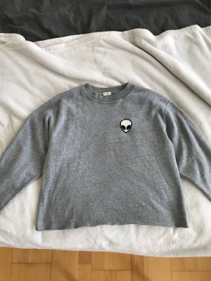 Brandy & Melville Kraagloze sweater veelkleurig