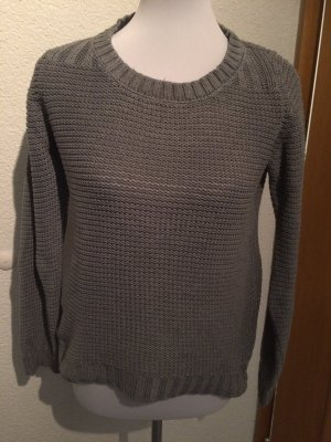 Best Connections Knitted Sweater grey-light grey