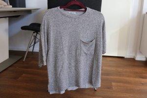 Zara Jersey gris-gris claro