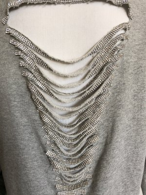 Sweater Twin Set silver-colored-grey