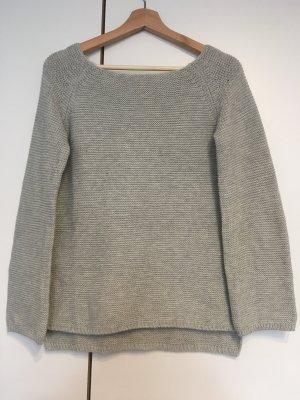 Atmosphere Pull en crochet gris clair-gris