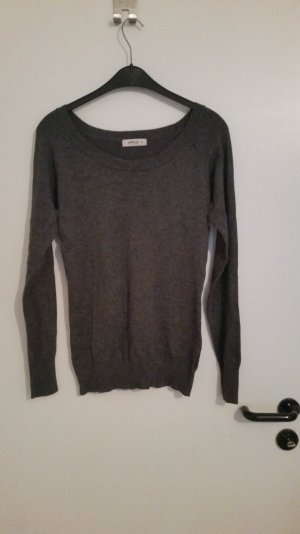 Grauer Pullover Gr. 38/M von C&A