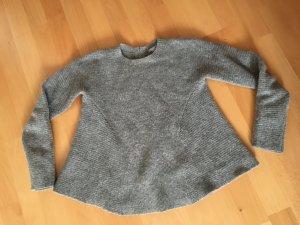 COS Jersey de lana gris claro-gris