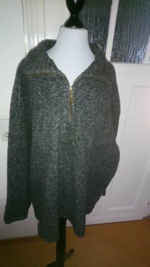 grauer Pullover - Größe 44