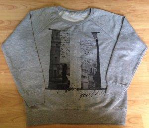 Grauer Pullover Größe M C&A