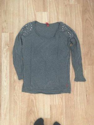 grauer Pullover QS s.oliver Größe XS