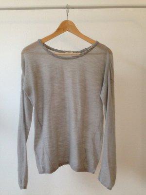 American Vintage Crewneck Sweater light grey