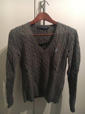 Grauer Pullover von Ralph Lauren