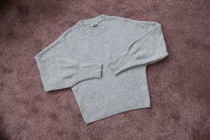 Grauer Pullover von Weekday Größe S 36 38