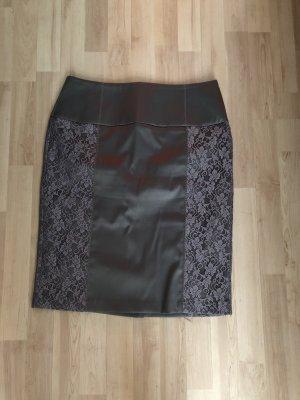 b.p.c. Bonprix Collection High Waist Skirt grey