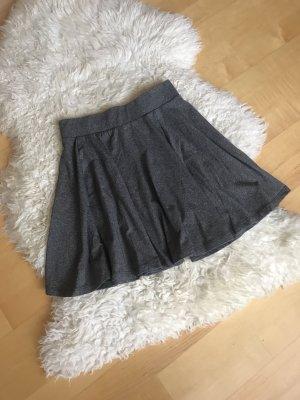 C&A Skater Skirt grey-light grey