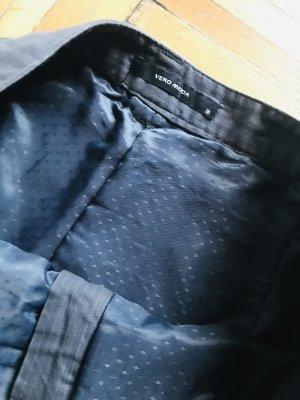 Vero Moda Falda de tubo gris oscuro-gris