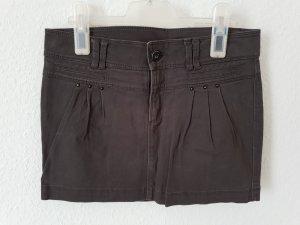 Zara Trafaluc Denim Skirt grey