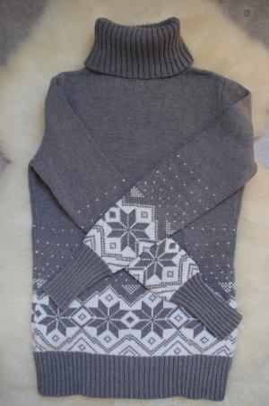 grauer Rollkragen Pullover von edc
